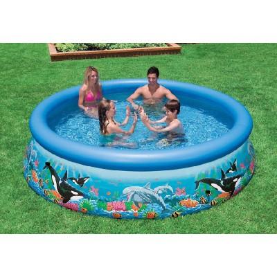купить Бассейн с надувным верхним кольцом 305х76см intex 28124 за 3300руб. в ИНТЕКСХАУС