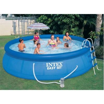купить Надувной бассейн для дачи 457х107см intex 28166 за 15900 руб. в ИНТЕКСХАУС
