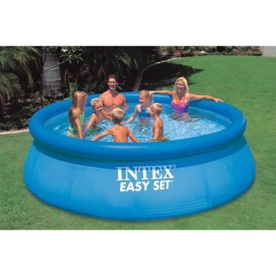 купить Надувной бассейн с надувным верхним кольцом 396х84см intex 28143 за 4990 руб. в ИНТЕКСХАУС