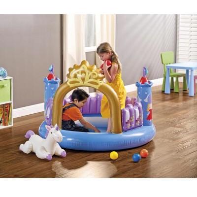 Купить Игровой центр Принцесса 130х91см intex 48669 по отличной цене в ИНТЕКСХАУС