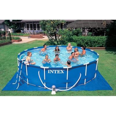 купить Каркасный бассейн 457х122 см intex 28236 за 20490руб. в ИНТЕКСХАУС