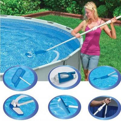 купить Комплект для очистки бассейна DELUXE intex 28003 за 3090руб. в ИНТЕКСХАУС