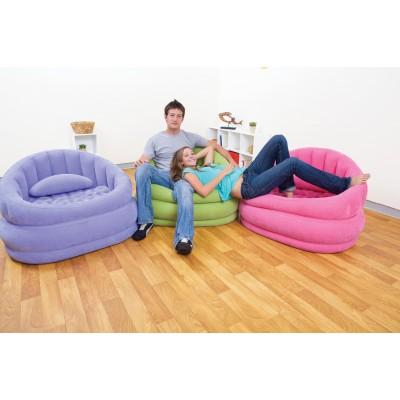 купить Кресло надувное 91х102х65см intex 68563в ИНТЕКСХАУС