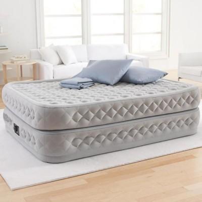 купить Кровать надувная двуспальная со встроенным насосом 220В 152х203х51см intex 64464 за 6550руб. в ИНТЕКСХАУС