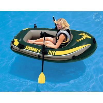 купить Лодка надувная 1 местная Seahawk 1 193х108х38см intex 68345 (без вёсел и насоса) за 2200руб. в ИНТЕКСХАУС