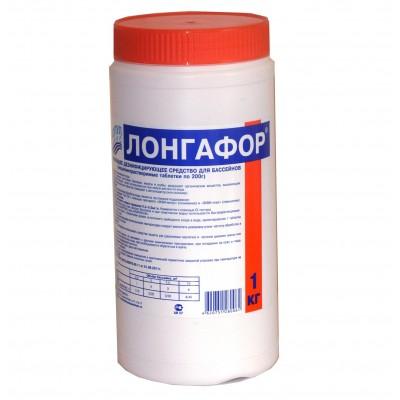 купить Лонгафор 200 гр. таблетки (для длительной хлорной дезинфекции) 0022 за 700руб. в ИНТЕКСХАУС