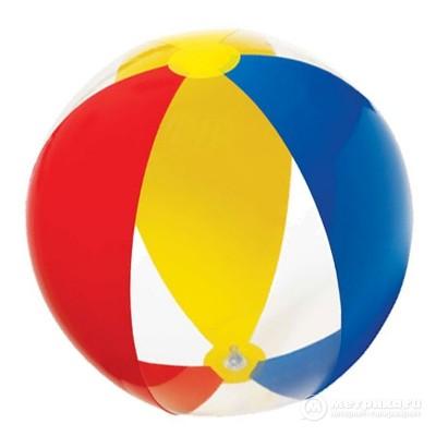 купить Мяч Paradise 61см, от 3 лет intex 59032 за 160руб. в ИНТЕКСХАУС
