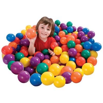 купить Мячики в сумке 100 шт. 6,5 см intex 49602 за 1550руб. в ИНТЕКСХАУС