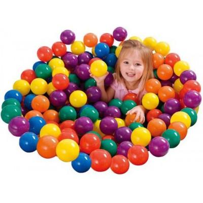 купить Мячики в сумке 100 шт. 8 см intex 49600 за 2590руб. в ИНТЕКСХАУС