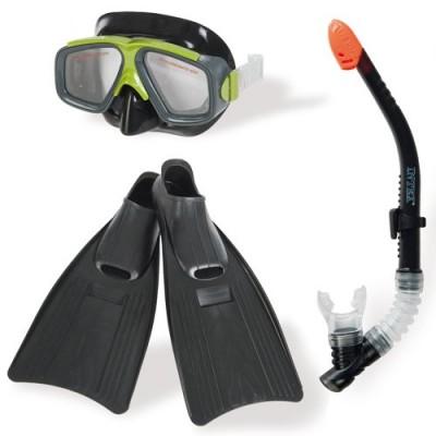 купить Набор маска/трубка/ласты Surf Rider intex 55959 за 1500руб. в ИНТЕКСХАУС