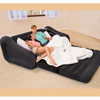 купить Надувной диван-трансформер 193х231х71см intex 68566 за 4150руб. в ИНТЕКСХАУС