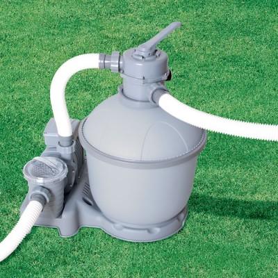 купить Песочный фильтр-насос 220 В, 5678 л/ч, Bestway 58199 за 11390руб. в ИНТЕКСХАУС