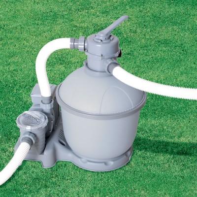купить Песочный фильтр-насос 220В, 3785 л/ч Bestway 58257 за 8400руб. в ИНТЕКСХАУС