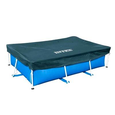 купить Тент для прямоугольного каркасного бассейна 300х200см intex 28038 за 800руб. в ИНТЕКСХАУС