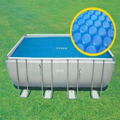 купить Тент солнечный для бассейна 732х366см intex 29027 за 5490руб. в ИНТЕКСХАУС