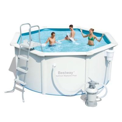 Каркасный бассейн со стальными стенкам 305х122см BestWay 56284