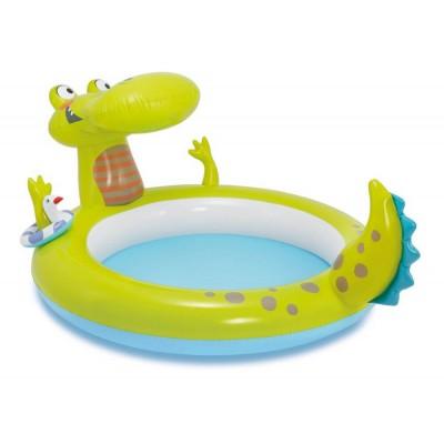 "Детский бассейн ""Крокодил"" 198x160x91 intex 57431"