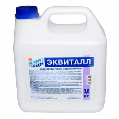Эквиталл 3 л (жидкое средство для осветления воды), канистра