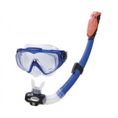 Набор для плавания Intex 55962 Aqua Pro (маска, трубка) intex 55962