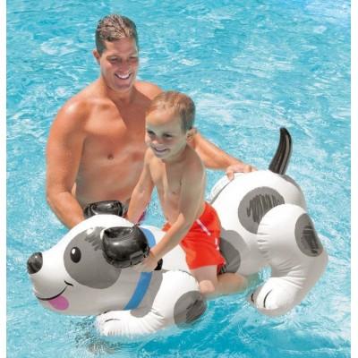 Надувная игрушка для плавания Собака 138х91 intex 57521